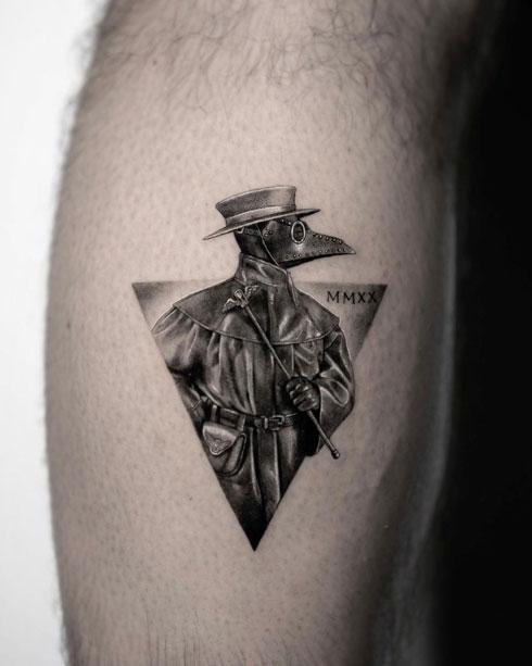 tatuaje Doctor peste