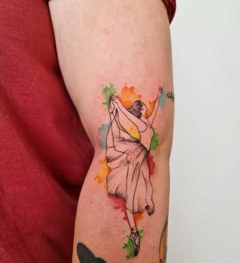 Tatuaje de Bailarina