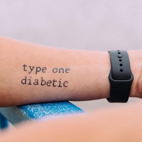 tatuaje de diabetico