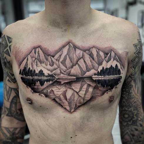 tatuaje de la naturaleza