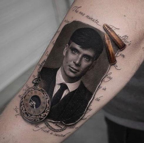 Tatuajes de Peaky Blinders