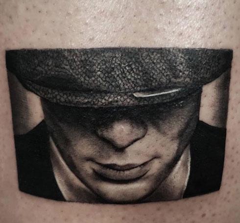 tatuaje de tommy shelby