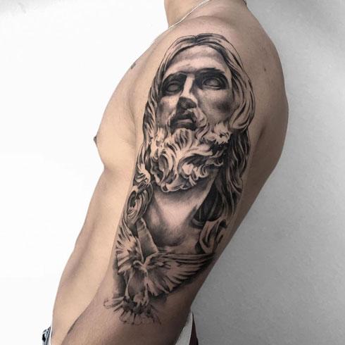 tatuaje espiritu santo