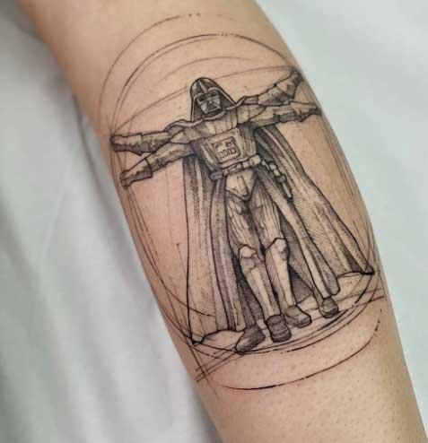 tatuaje starwars