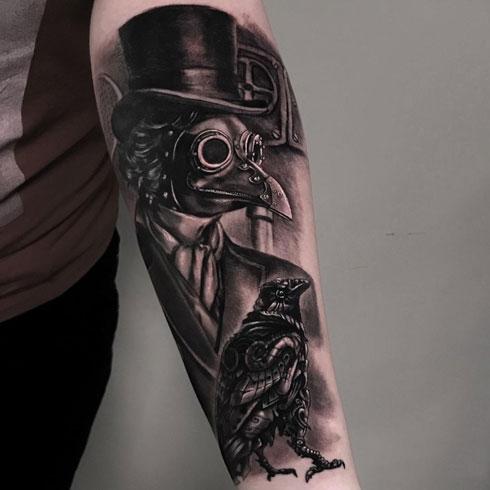 tatuje realismo de dr peste