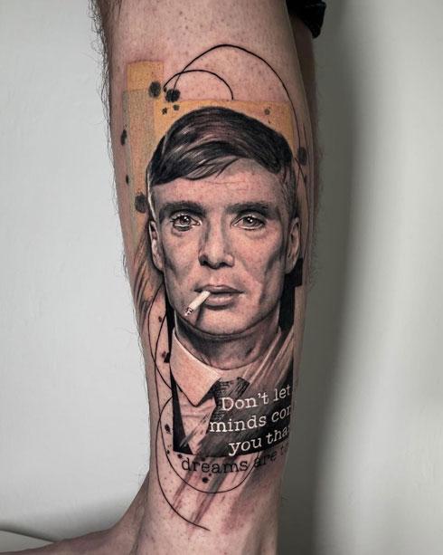 thomas shelby tatuaje