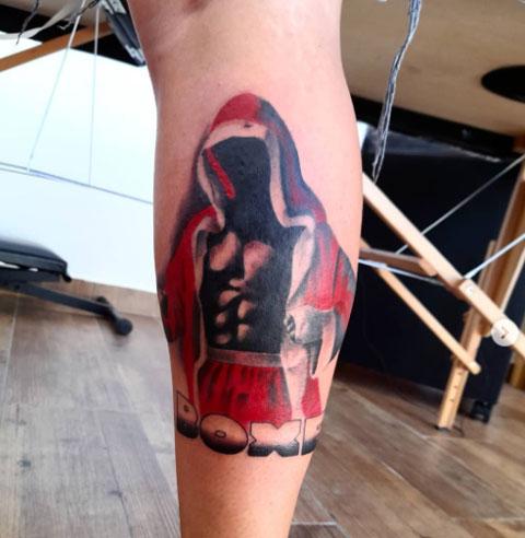boxeo tattoo