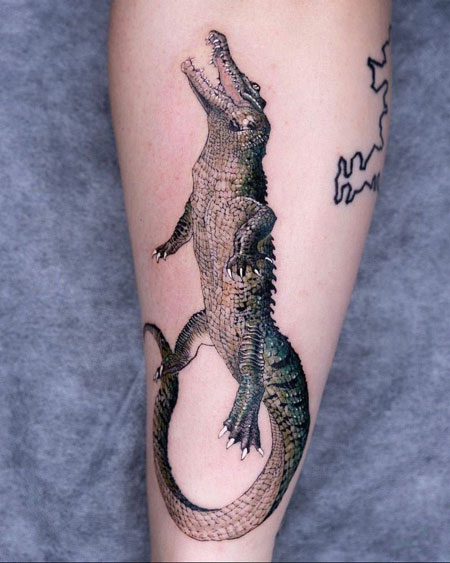 cocodrilo tatuaje