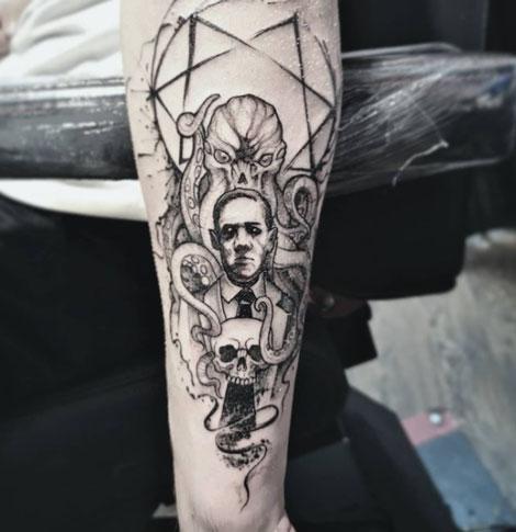cthulhu tatuaje