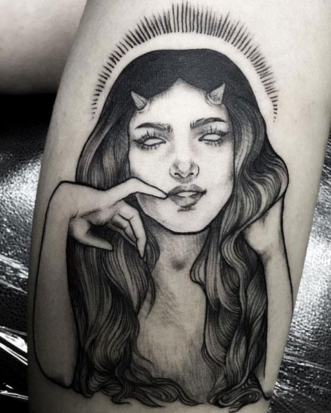 diabla tatuaje