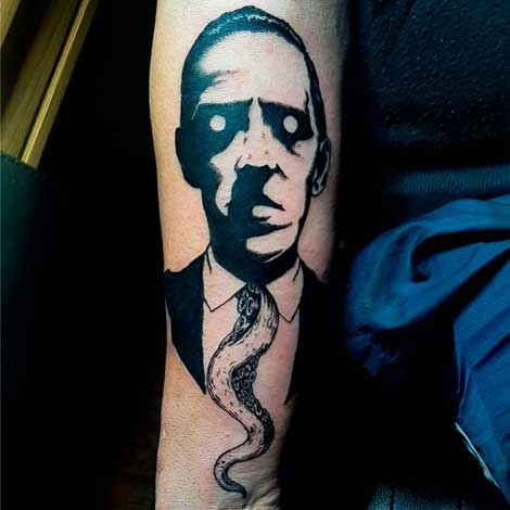 hp lovecraft tattoo