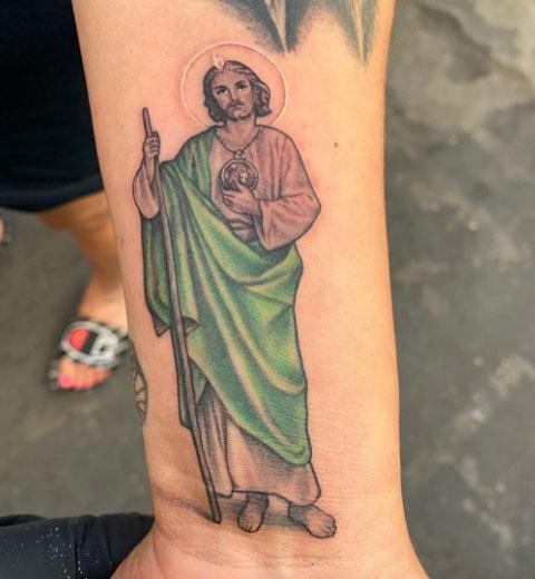 san juditas tatuaje