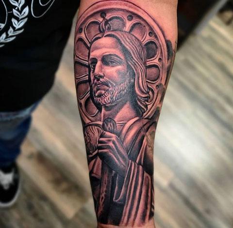 st judas tadeo tattoo