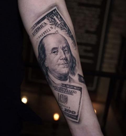tattoo billete