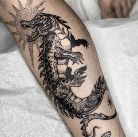 tattoo cocodrilo hombres