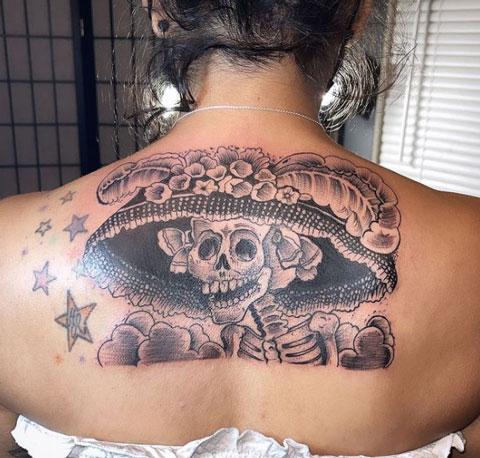 Tatuajes de la Catrina
