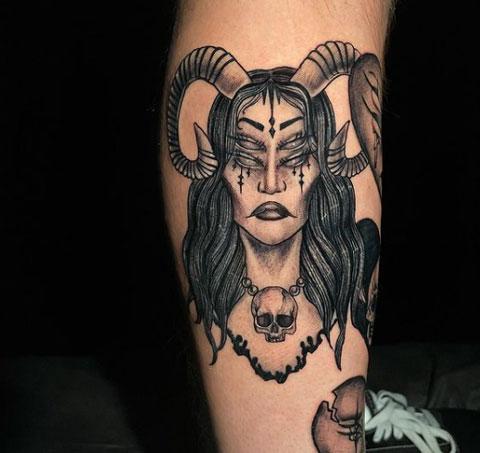 tattoo de diablas