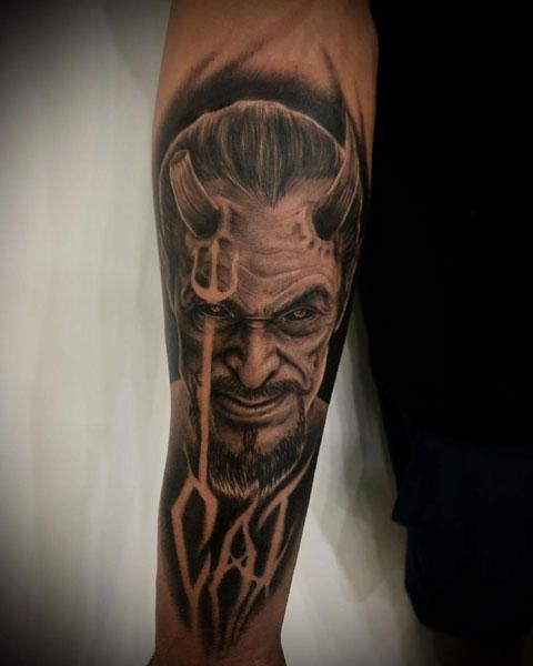 tattoo de el diablo