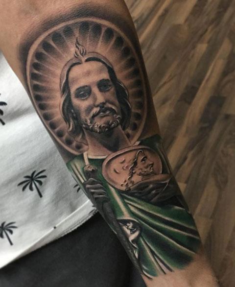 tattoo de san judas