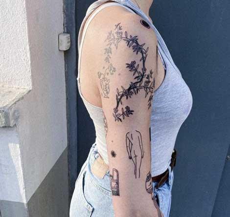 tattoo flash para mujer