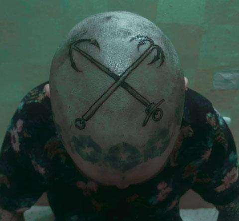 tatuaje de cabeza