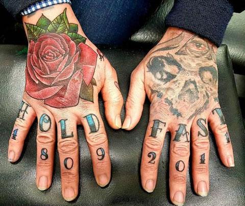 tatuaje hold fast tatuaje