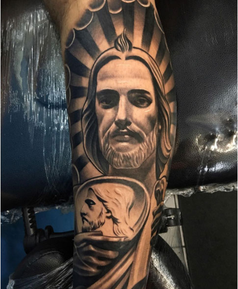 Tatuaje de San Judas Tadeo