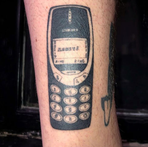 tatuaje movil nokia