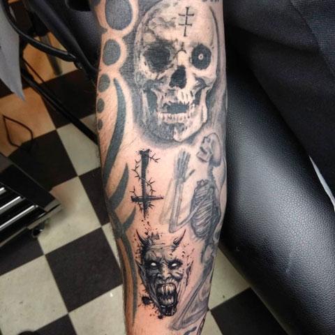tatuaje terror
