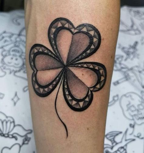 Tatuaje de Trebol