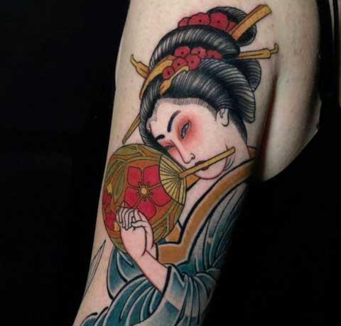 Tatuajes de Geisha