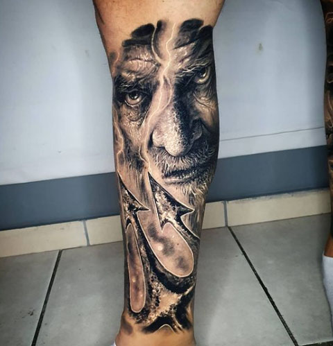 tridente tattoo