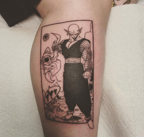 anime tattoo piccolo