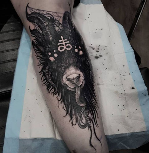 baphomet tattoo