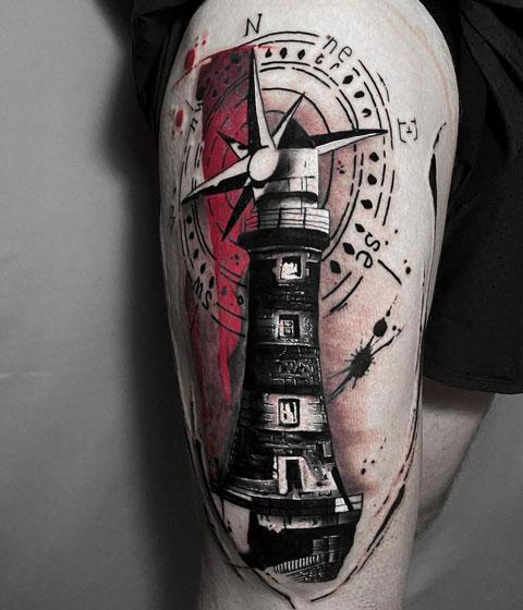 faro tatuaje