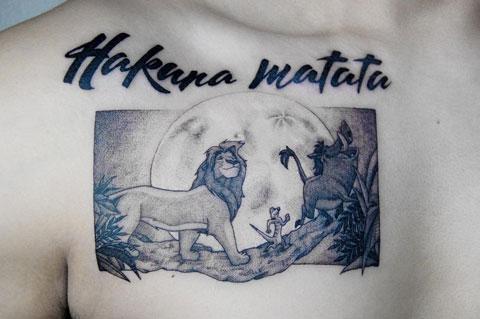 hakuna matata un tatuaje