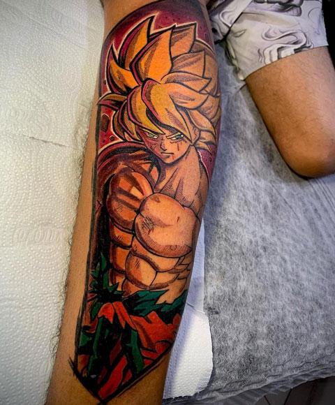kakaroto tattoo