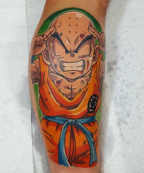 Tatuajes de Krillin