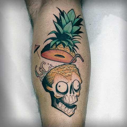 tattoo piña colada