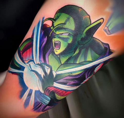 tatuaje a color picolo