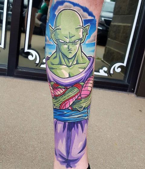 Tatuaje de Piccolo