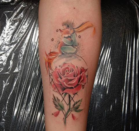 tatuaje del principito
