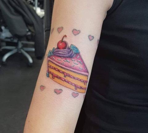 Tatuaje de Pastel