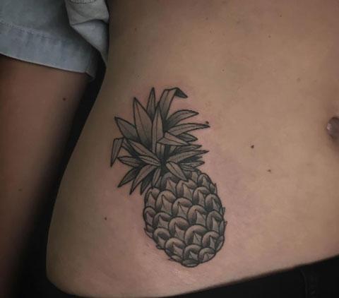 tatuajes de Piña