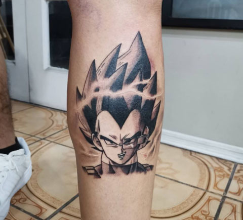 tatuajes vegeta