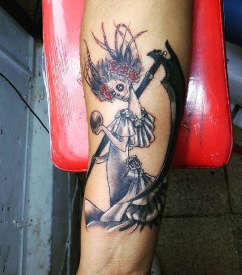 tatujae novia muerte