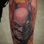 batman tattoo