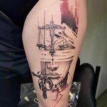 diosa griega tatuaje