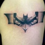 logo batman tatuaje