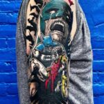 tatuaje batman y robin